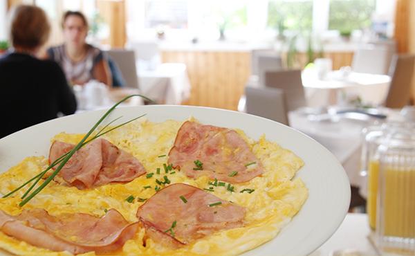 Frühstück im Gästehaus Gerlinde