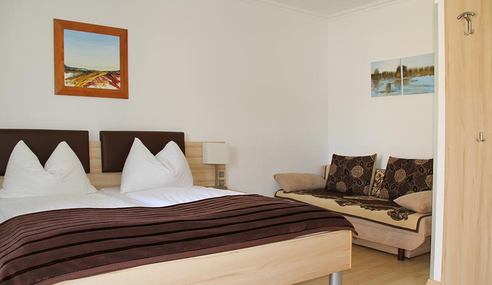 Gästezimmer neu im Gästehaus Gerlinde